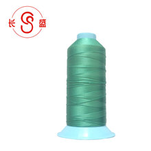 Low Shrinkage bonded nylon sewing thread for leather