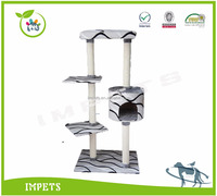 2016 High standard cat tree Durable cat house eco-friendly wholesale cat furniture
