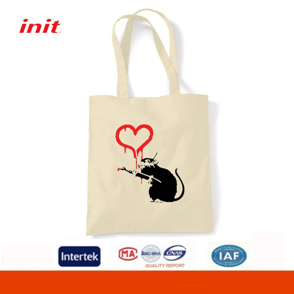 Superfine Durable Manufactures Elegant Lovely Cotton Canvas Tote Bag