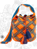 Genuine Luxury Wayuu Mochila Bag by Jardin del Cielo (Vibrant)