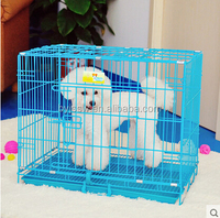 China Metal Pet Cage, Animal Cage With Plastic Tray