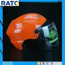 Stylish design orange open face motorcycle helmets for sale cheap