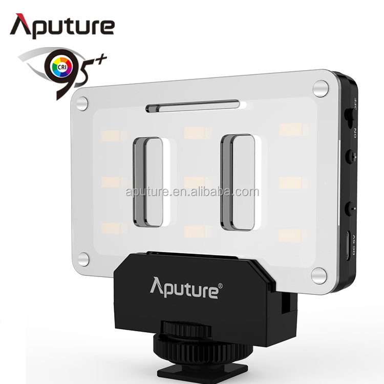 Aputure on camera video light, led lights for video shoot , best video lighting