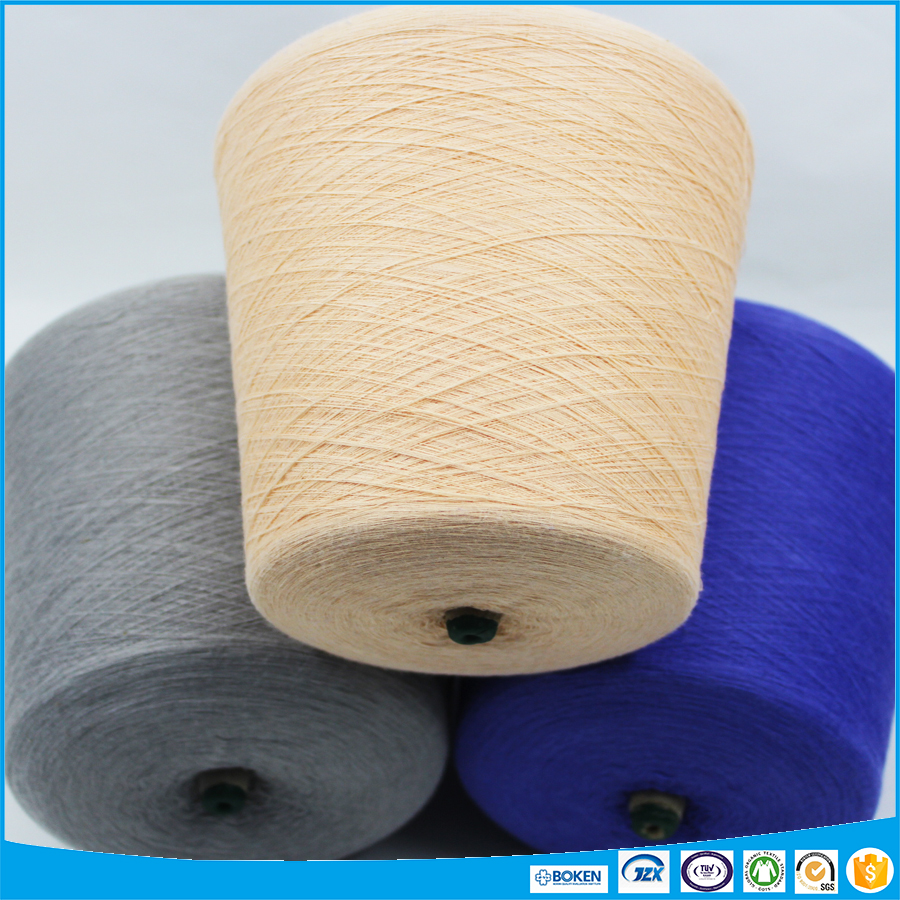 Anti-bacteria AG+ cotton blended yarn in cool touch for knitting