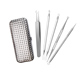 5pc/set metal acne needle blackhead Whitehead remover beauty tool kit