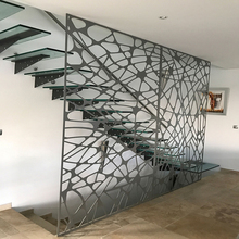 Outdoor metal stair railing designs