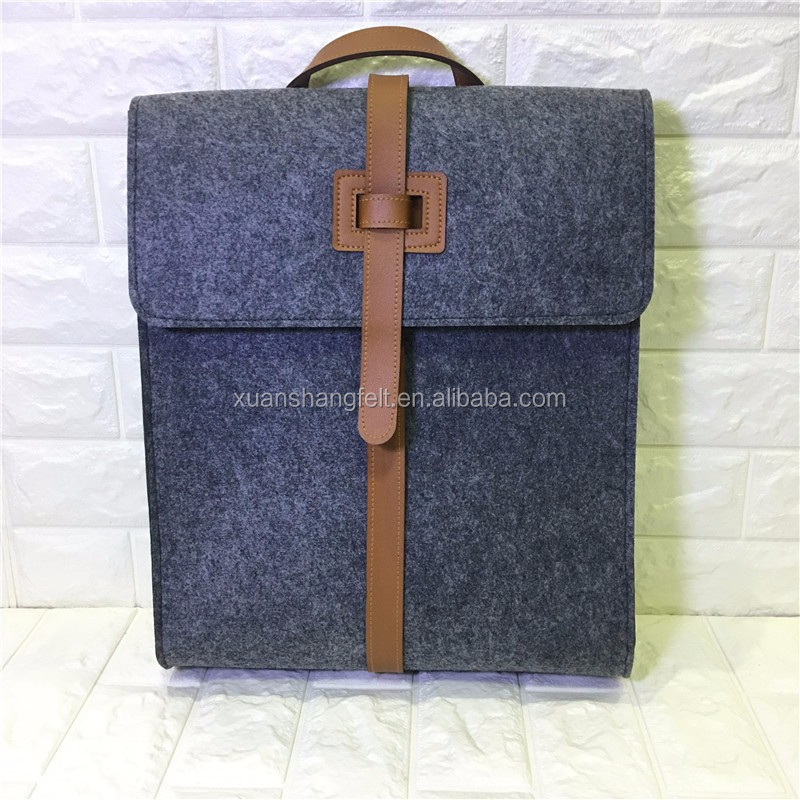 New goods travel luggage bags felt laptop backpack