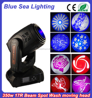 bar and night club decoration beam moving head light 350w 17r