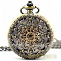 2014 newest products custom made vintage erotic mechanica pocket watches