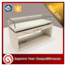 Luxury jewelry cabinet/kiosk/showcase furniture with ultra tempered glass/jewelry shop interior design display cabinet