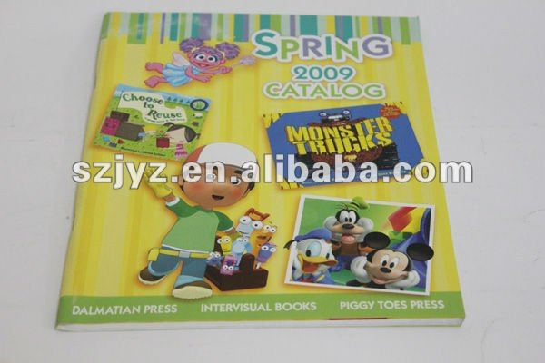 Children's products promotional catalog paper printing