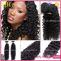 Raw Unprocessed Hair Weft Brazilian Virgin Hair kerala hair extensions