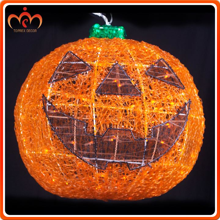 Holiday lighting 24V pumpkin faces decor