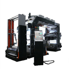YTB-41000 High Speed PVC UV Stack PE Label Paper and Plastic Film Bag 2 6 8 4 Colour Flexographic Printing machine