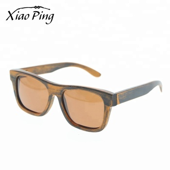 100% Handmade Vintage Custom Shaped Bamboo Sunglasses With Box
