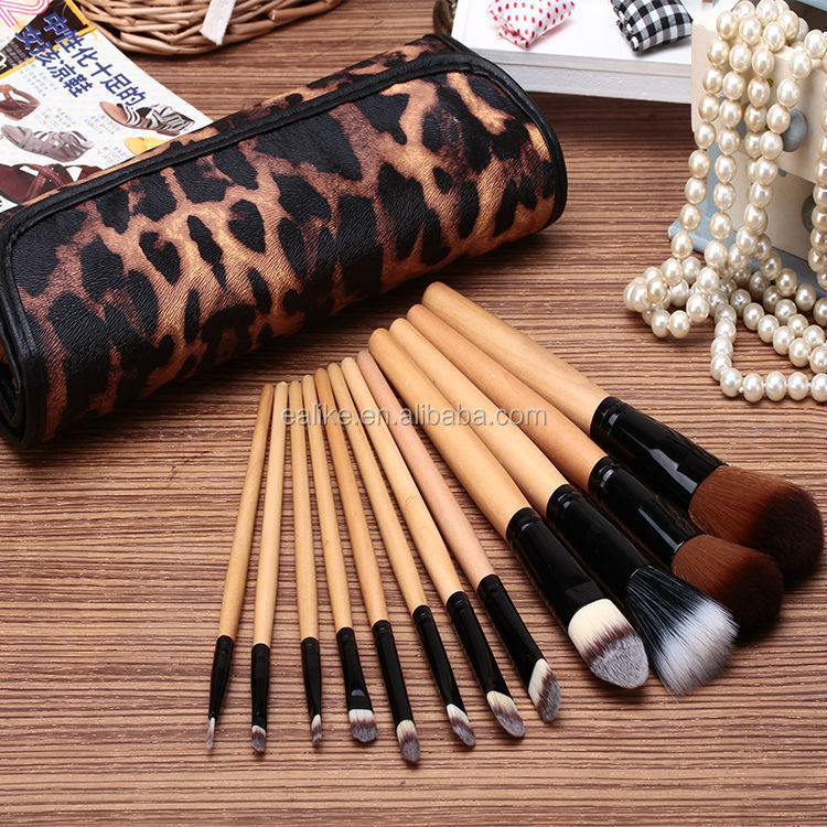 Professional high quality hot popular private 12 pc paint brush set