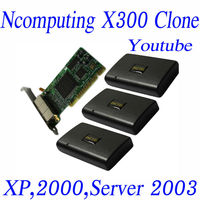INCTEL IN-X300 thin client X300 with 3 access terminals and 1 pci card