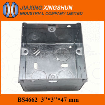Hot Selling 3*3 inches Floor Galvanized Steel Waterproof Electrical Outlet Box