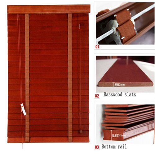 Manual/Motorized Chinese bamboo blinds S-type natural bamboo blinds