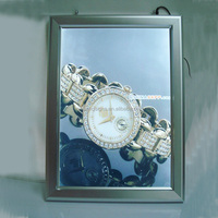 Aluminum Snap Frame with LED Backlit Picture