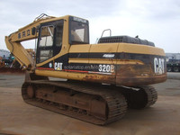 Used Crawler Excavator 320B,japanese used excavator for sale