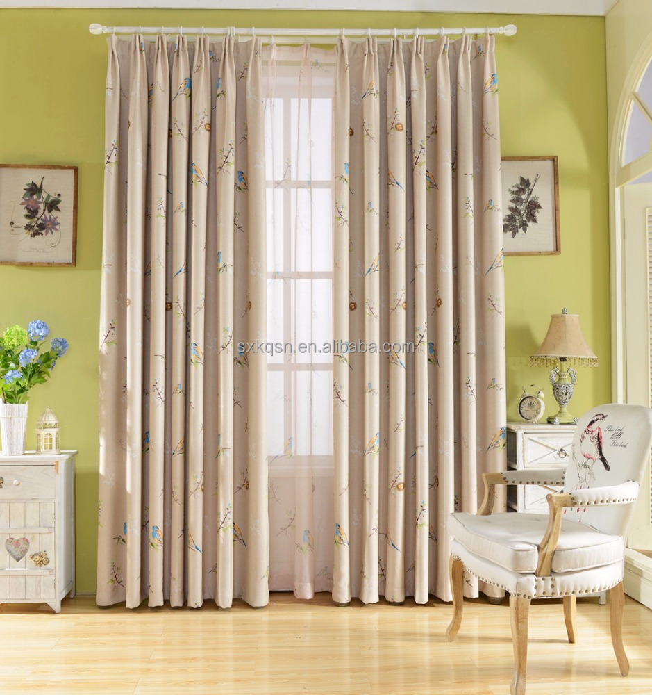 2017 european style blackout window curtains for sale