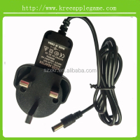 5V2A England plug AC/DC Adapter UK plug switching power adapter