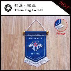 Club Sports Pennant , Team Soccer Pennant , Custom Football Pennant