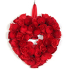 decorative straw wreath decorated grapevine wreaths wicker heart wreath