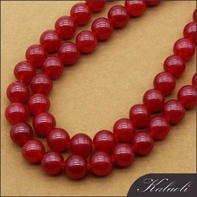 10mm round malaysian red jade stone price