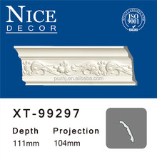 Wholesale decorative ceilings pu moulds/cornice of polyurethane