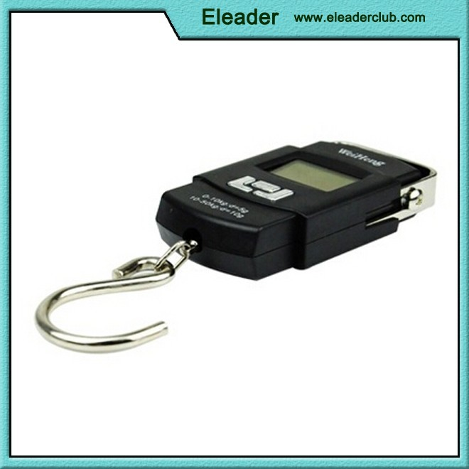 High precision Portable Hanging/Fishing/Luggage Scale with LCD Display