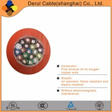 underwater marine electrical cable with waterproof material
