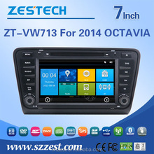 7 inch car navigation for skoda octavia radio dvd with bluetooth tv multimedia