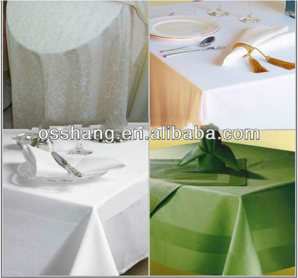 100% spun polyester table napkins wedding polyester spun napkins
