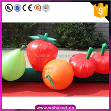 Cheap customized replicas inflatable fruit model for outdoor decoration