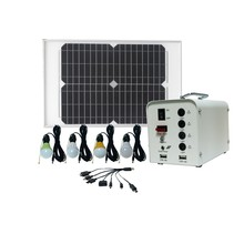 Guangzhou booth supplies 20W solar panel with home power system