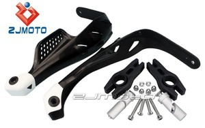 "Motorcycle ZJMOTO 7/8"" Bar MX ATV Brush Hand Guard Fit For KTM GasGas Aprilia Sym ZJ-08BK"