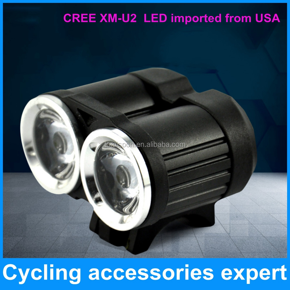 2000 lumen led CREE CREE XM-<strong>U2</strong> x2 T6 bike bicycle head light