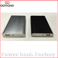 L376 2015 New Ultra Slim Colorful Power Bank 5000mAh 8000mah polymer power bank for Mobile Phone