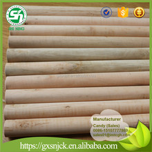 Natural wooden sticks for brooms with Italia thread