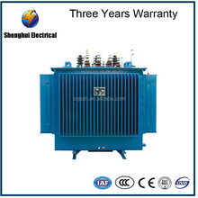 High Altitude 1500KVA power distribution transformer 11KV oil immersed pole mounted transformer