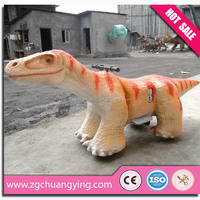 Shopping center dinosaur coin electric children animal models with mounts can custom types