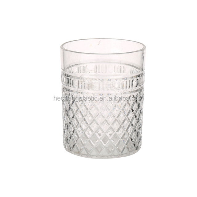 400ml Acrylic Crystal Plastic Cup Decorative Cold Beer Mug