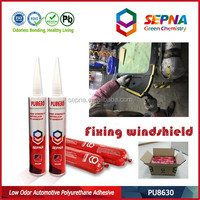 single component fast cure pu/polyurethane adhesive sealant for aftermarket bus and car windscreen replace