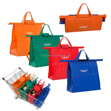 Reusable Grocery Cart Bags Shopping Trolley Bag Grab Bag