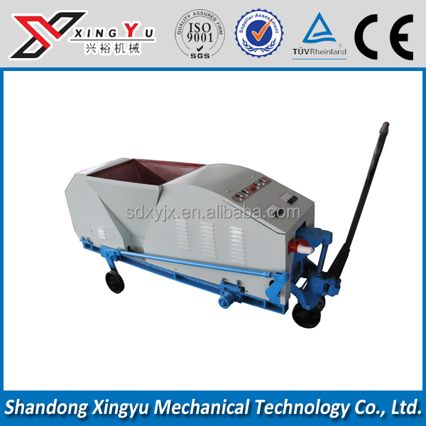 Automatically HQJ50-300 boundary concrete fencing extruder