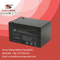 Sealed Free Maintenance Type and UPS Usage 12v 7ah Rechargeable Lead Acid Battery