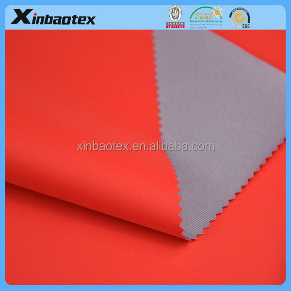 Zhejiang supplier 100% poly coated fabric for jacket /jacket fabric