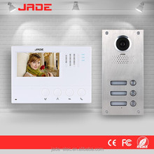 2016 Access Control Vandal Resistant CAT5 Analog video intercom Building System